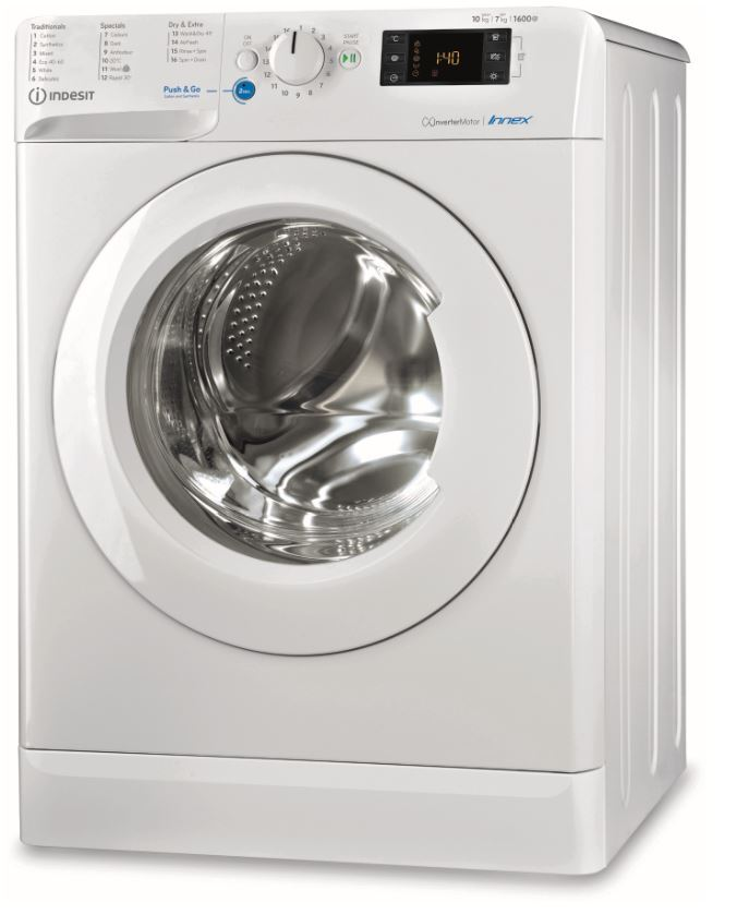 Indesit BDE 1071682X W UK N Washer Dryer