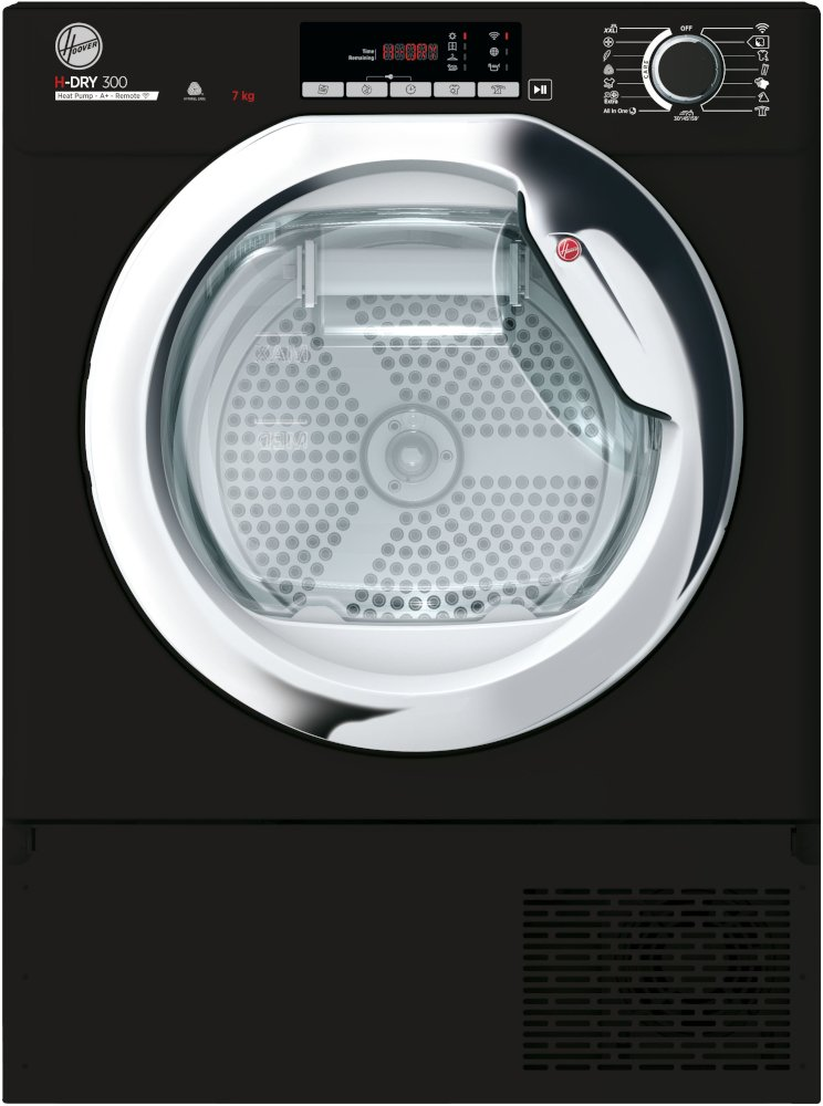 Hoover BHTDH7A1TCEB Integrated Condenser Dryer with Heat Pump Technology