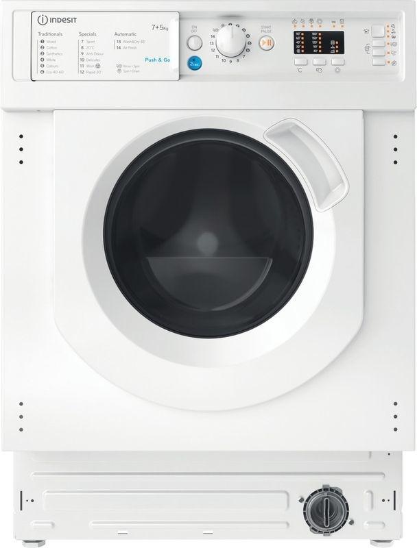 Indesit BI WDIL 75125 UK N Integrated Washer Dryer
