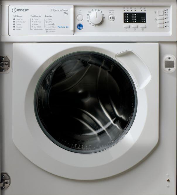 Indesit BIWMIL91484UK Integrated Washing Machine
