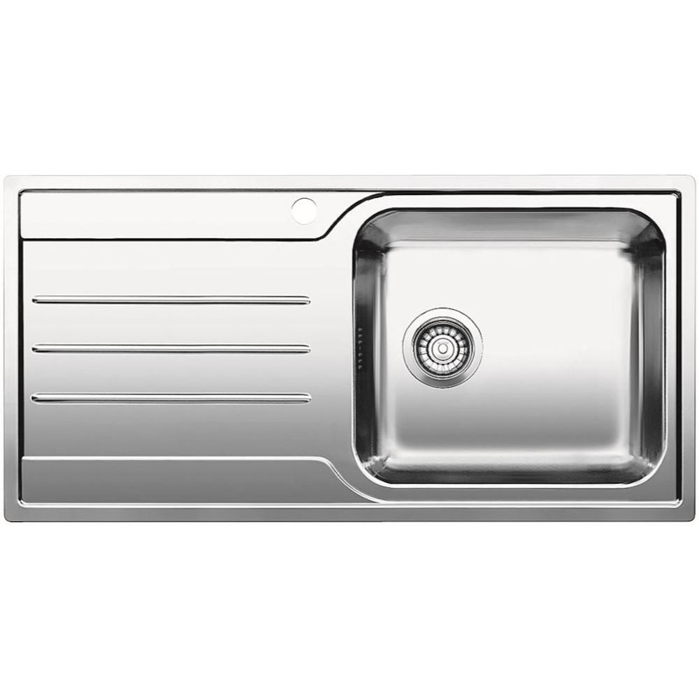 Blanco Median XL 6 S-IF Right Hand Bowl Stainless Steel Inset Sink