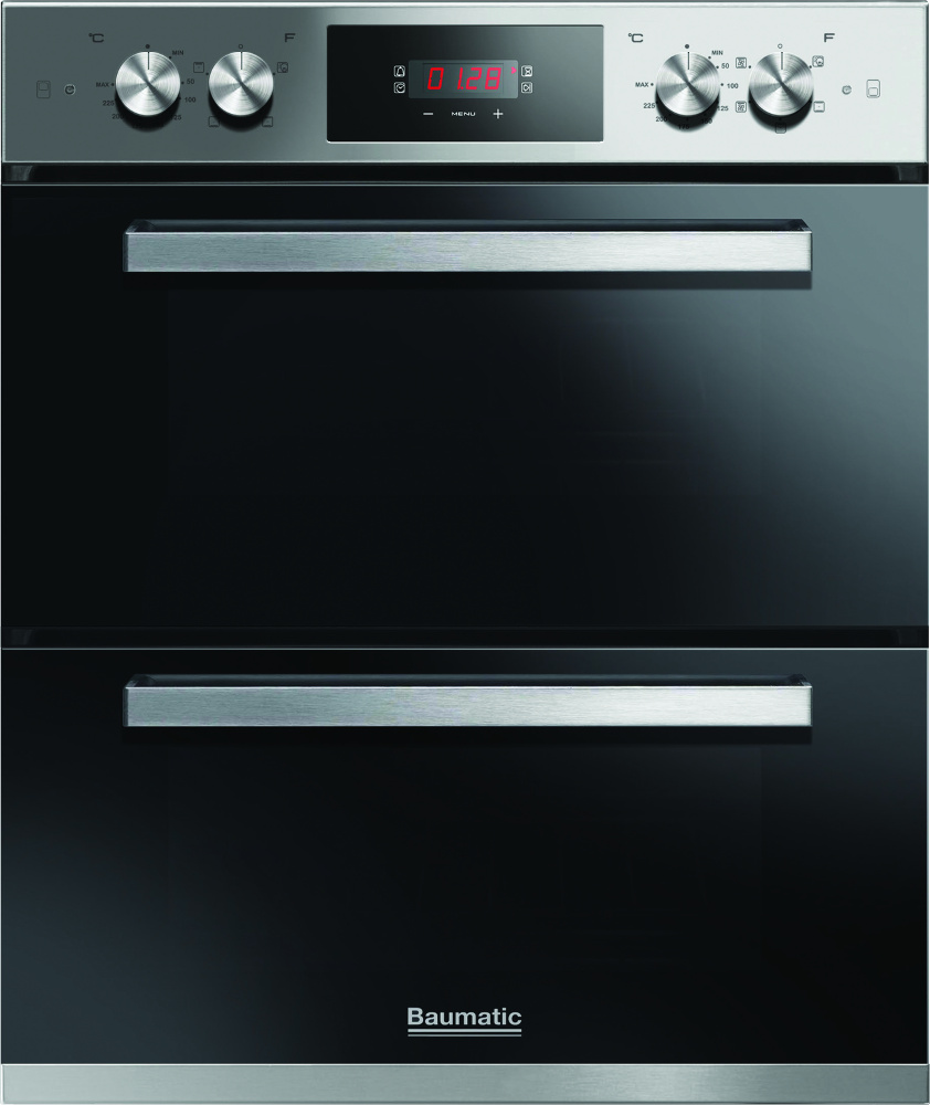 Baumatic BODM754X Double Built Under Electric Oven