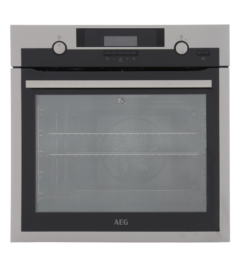 AEG BPS552020M SteamBake Single Built In Electric Oven