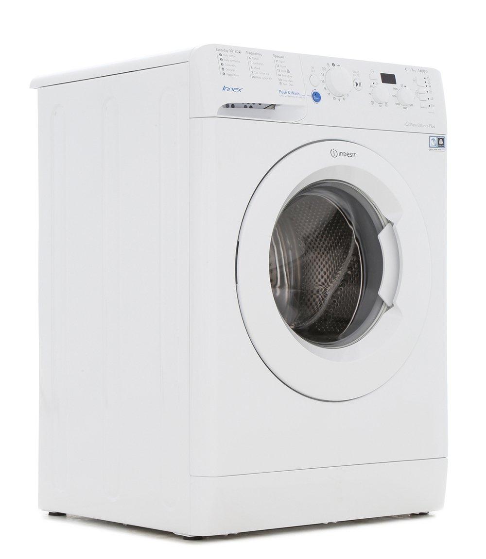 buy indesit bwd71453wuk washing machine white marks. Black Bedroom Furniture Sets. Home Design Ideas
