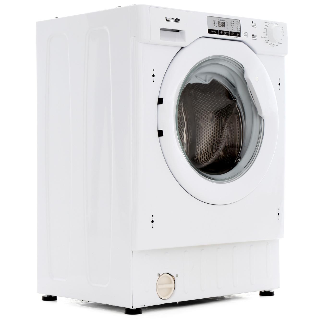 Baumatic BWMI148D-80 Integrated Washing Machine
