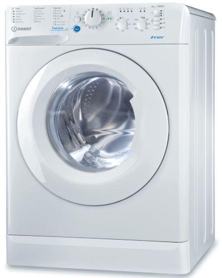 Indesit BWSC61251XWUKN Washing Machine