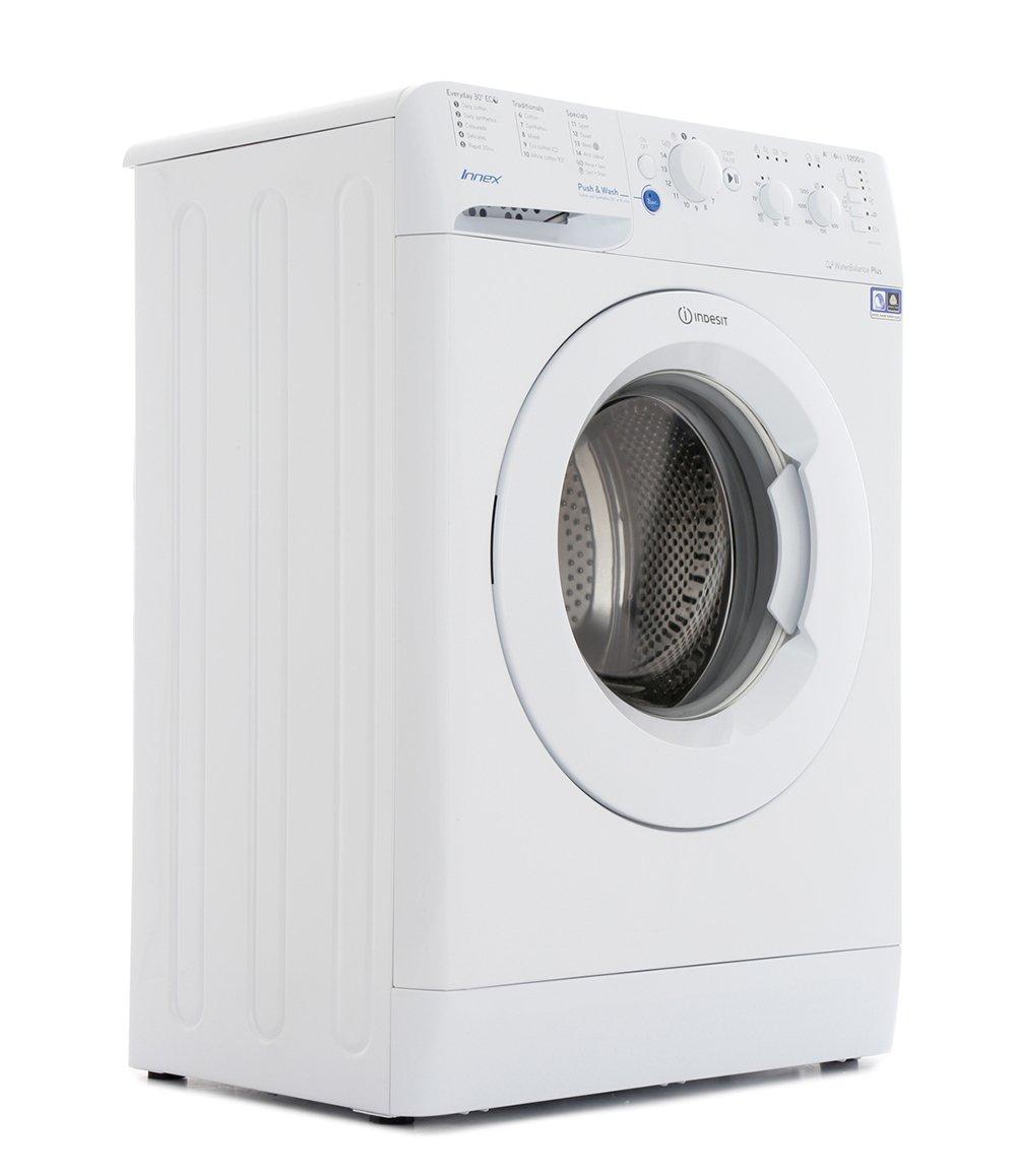 buy indesit bwsc61252w washing machine white marks. Black Bedroom Furniture Sets. Home Design Ideas