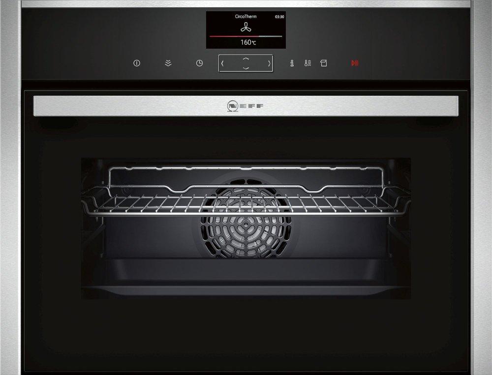 Neff N90 C17FS32H0B Compact Steam Oven