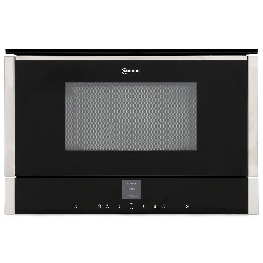 Neff N70 C17GR00N0B Built In Microwave with Grill