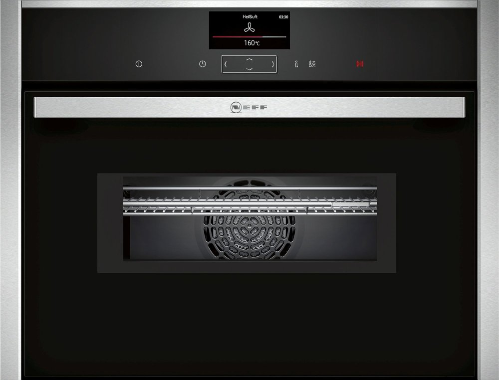 Neff N90 C17MS32H0B Compact Oven with Microwave