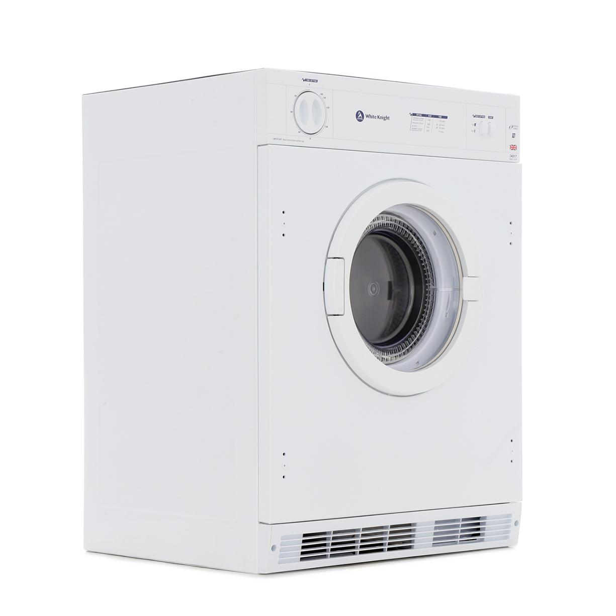 buy white knight c4317 integrated vented dryer marks electrical rh markselectrical co uk Black Knight White Knight Logo