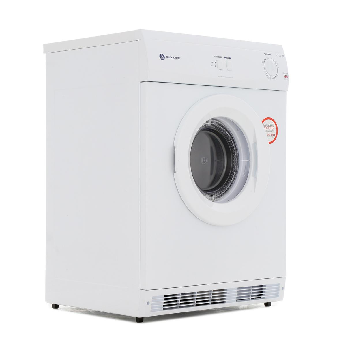 White Knight C44A7W Vented Dryer