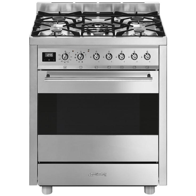 Smeg Symphony C7GPX9 Stainless Steel 70cm Dual Fuel Range Cooker