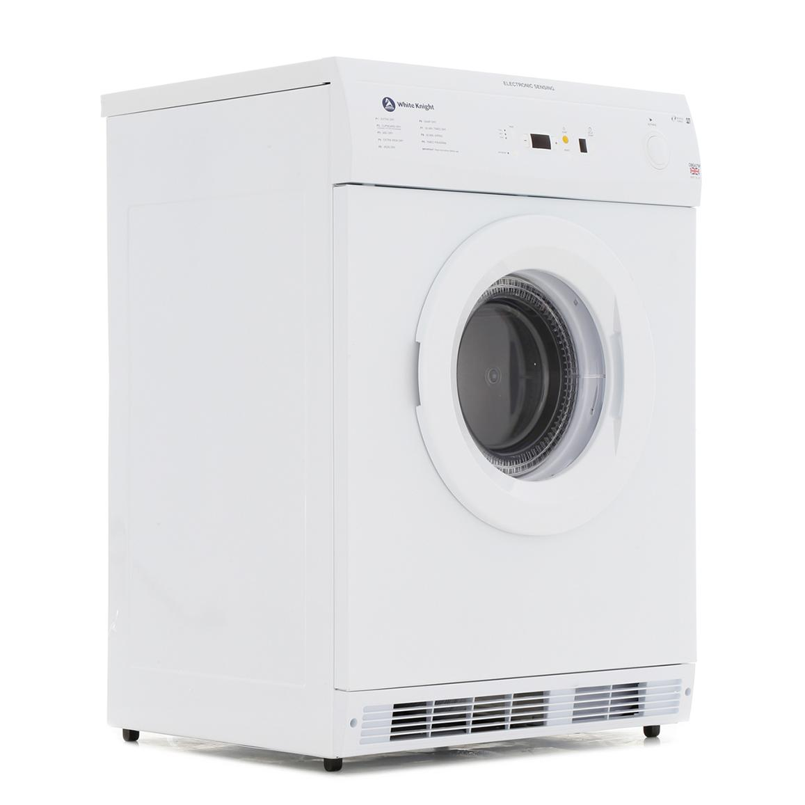 White Knight C86A7W Vented Dryer