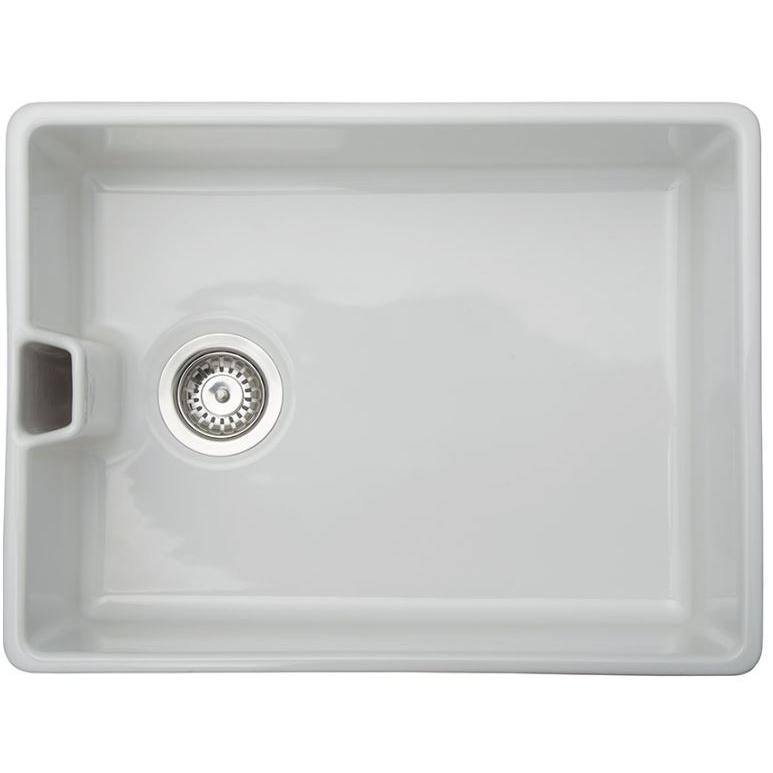 Smeg Ceramic Bulter Style C959BTWH  White Sit On Sink