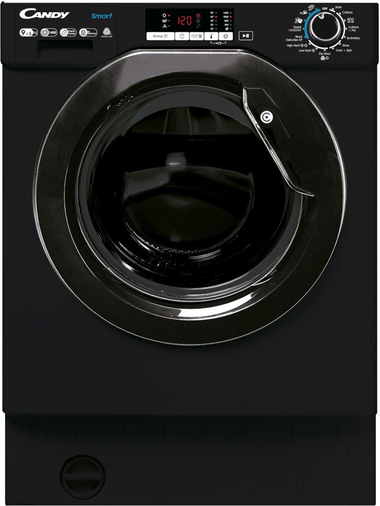 Candy CBD 495D2WBBE Integrated Washer Dryer