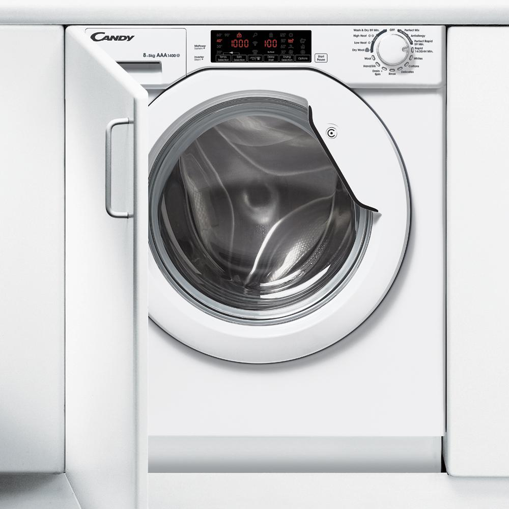 Candy CBWD 8514TWH-80 Integrated Washer Dryer