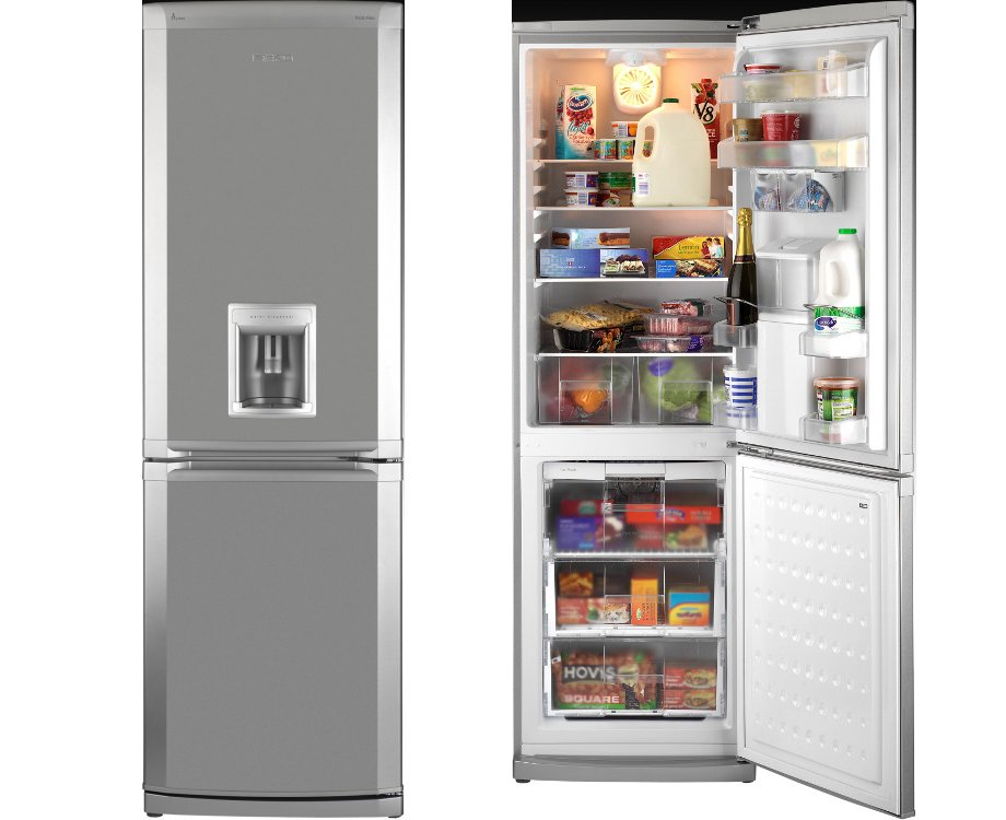 beko cda659fs fridge freezer