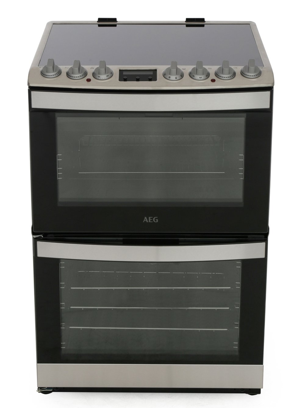 AEG CIB6731ACM SteamBake Induction Electric Cooker with Double Oven