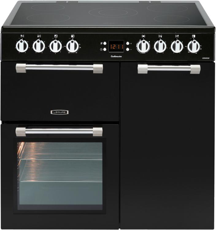 Leisure Cookmaster CK90C230K 90cm Electric Ceramic Range Cooker