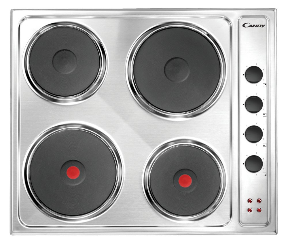 Candy CLE64X Electric Hob
