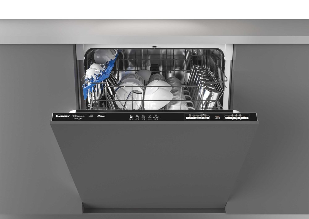 Candy CRIN 1L380PB-80 Built In Fully Integrated Dishwasher