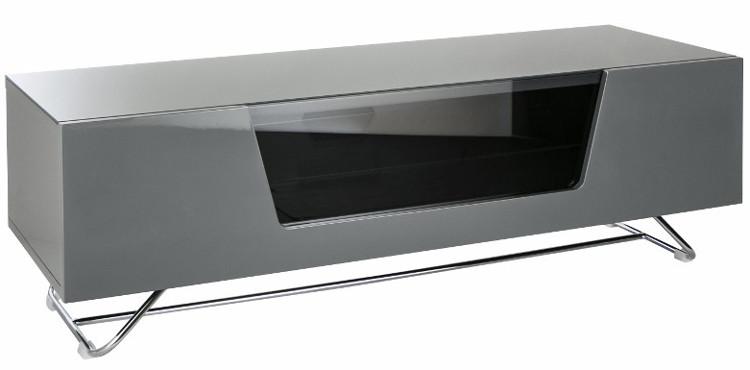 Alphason CRO21200CBGRY Chromium 2 Cantilever TV Cabinet