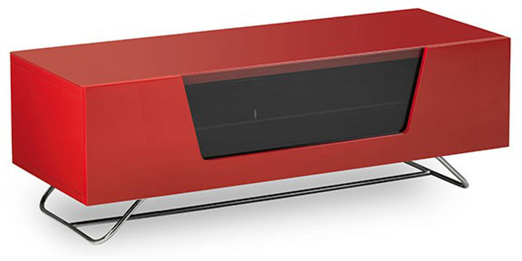 Alphason CRO21200CBRED Chromium 2 Cantilever TV Cabinet