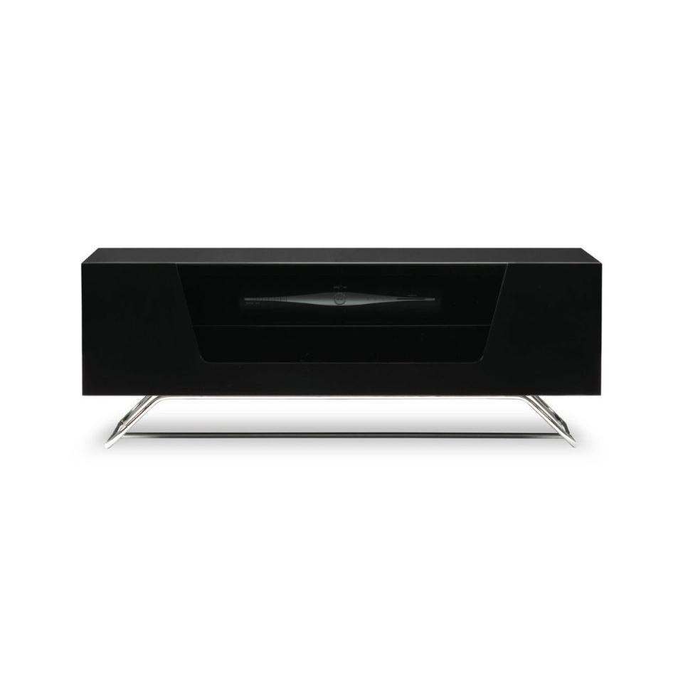 Alphason CRO21200CPTBK Chromium Concept TV Cabinet