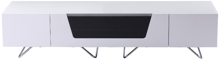 Alphason CRO21600CBWHT Chromium 2 TV Cabinet