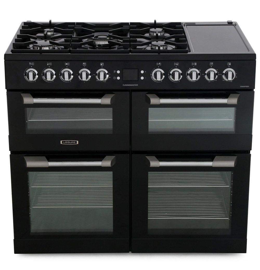 Leisure Cuisinemaster CS100F520K 100cm Dual Fuel Range Cooker