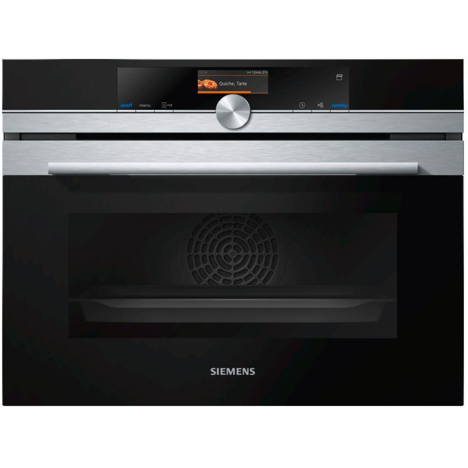 Siemens iQ700 CS656GBS7B Steam Oven