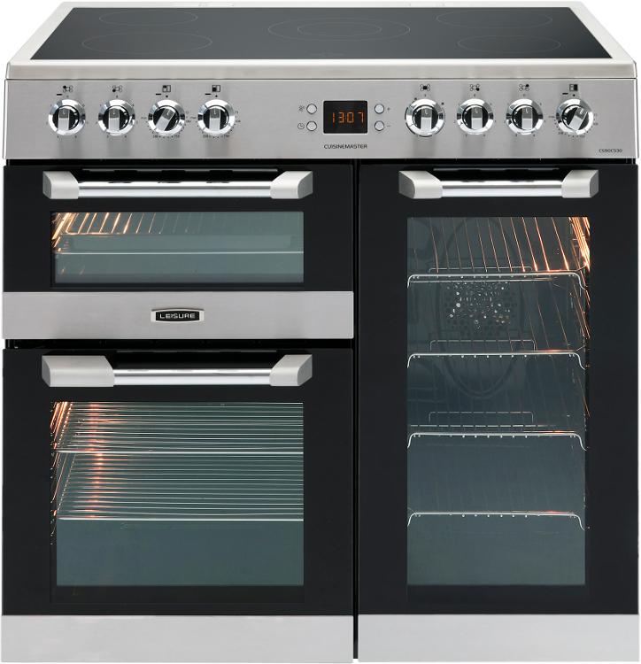 Leisure Cuisinemaster CS90C530X 90cm Electric Ceramic Range Cooker