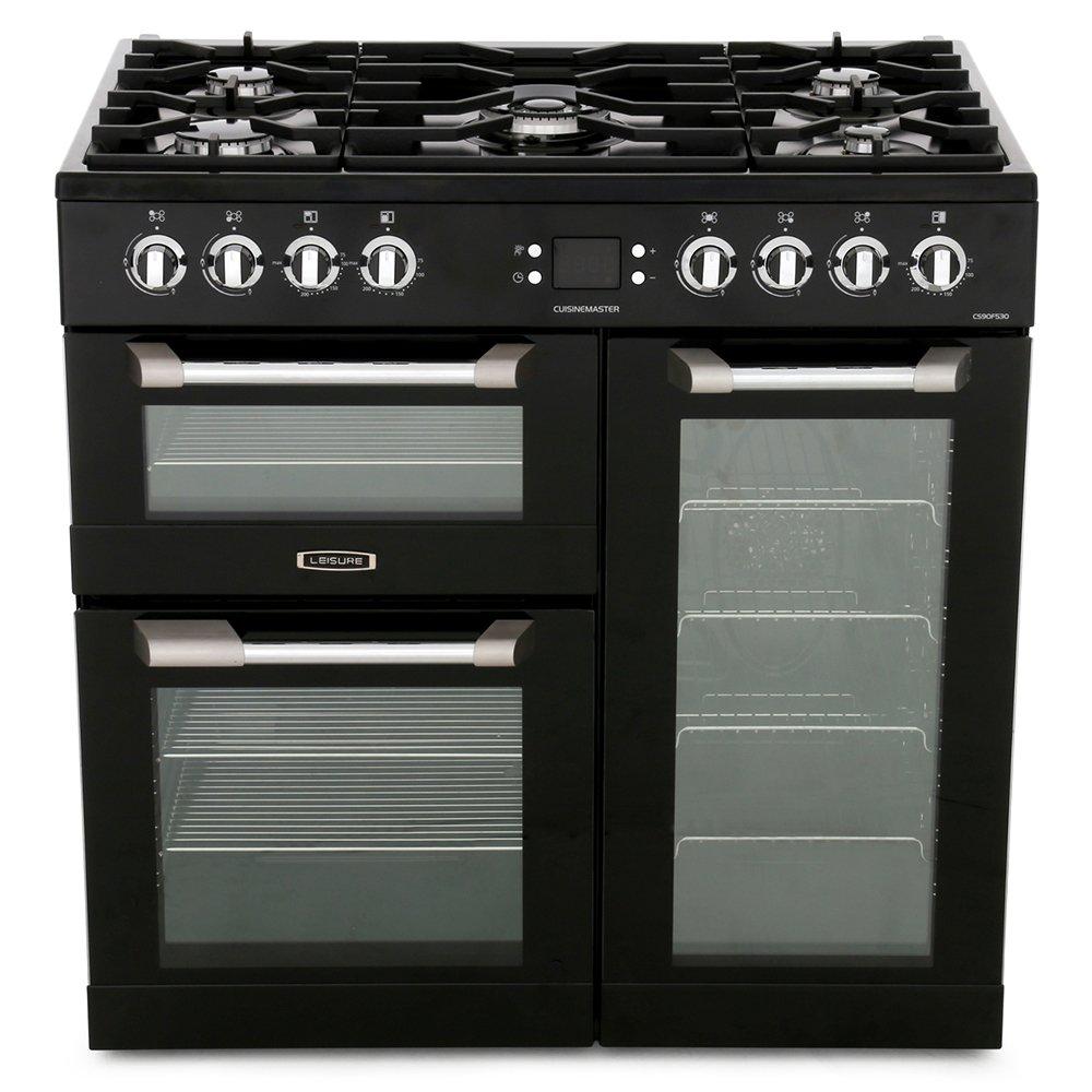 Leisure Cuisinemaster CS90F530K 90cm Dual Fuel Range Cooker