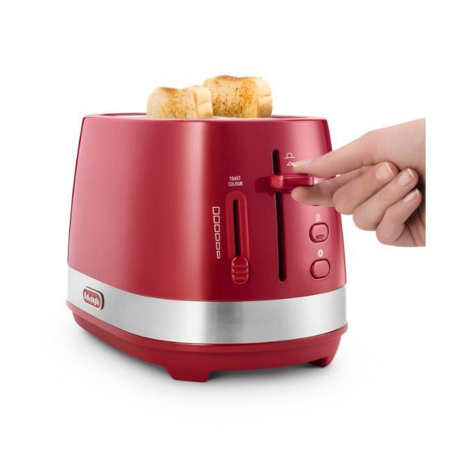 DeLonghi CTLA2003.R Active Line 2 Slice Toaster
