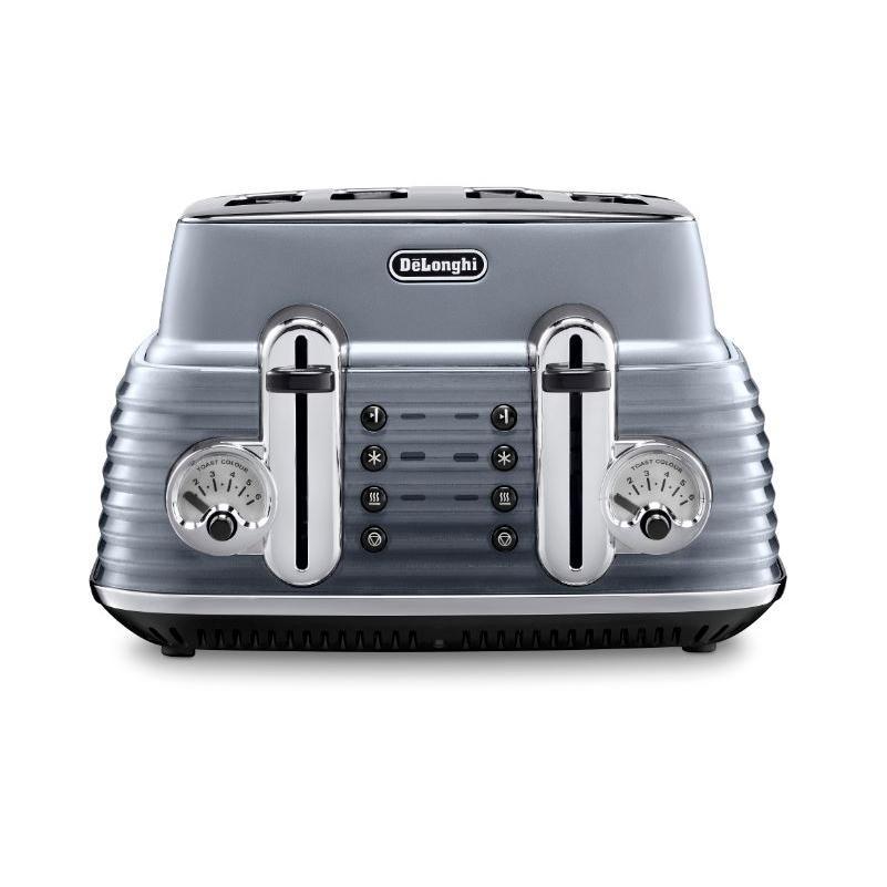 DeLonghi CTZ4003.GY Scultura 4 Slice Toaster