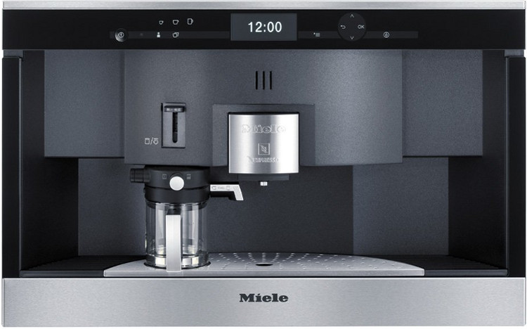 Built In Coffee Maker Reviews : Buy Miele PureLine CVA6431 CleanSteel Built In Nespresso Coffee Maker (CVA6431clst) Marks ...