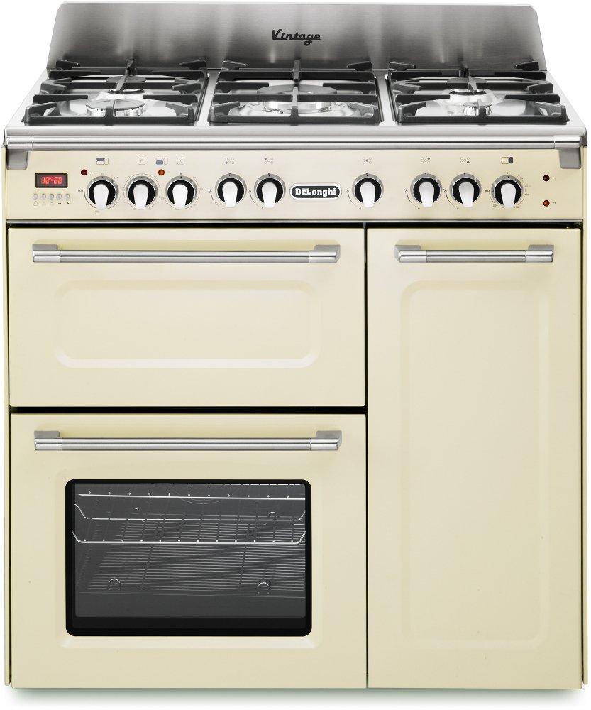 DeLonghi D3VR 908-DF 90cm Dual Fuel Range Cooker