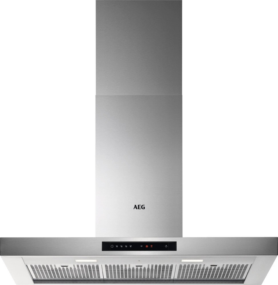 Buy AEG DBE6980HM 90cm Chimney Hood - Stainless Steel | Marks Electrical
