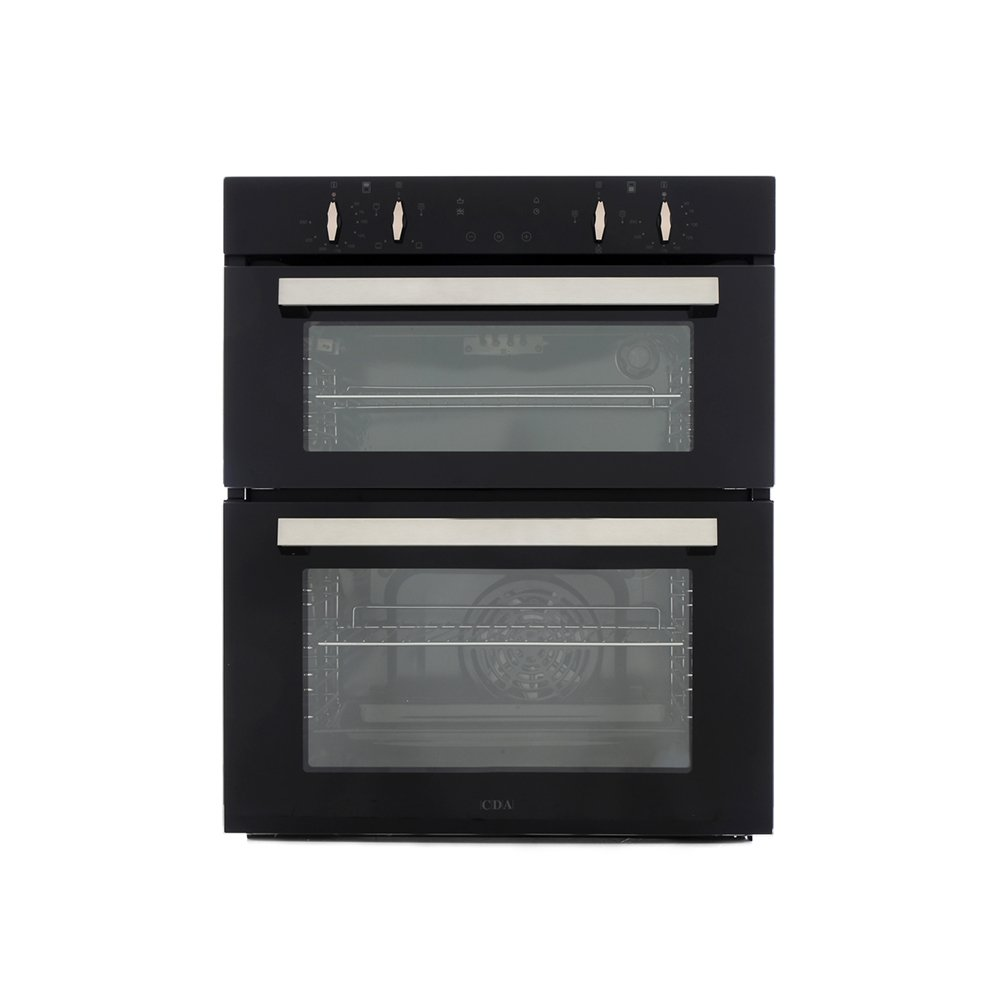 CDA DC740BL Double Built Under Electric Oven