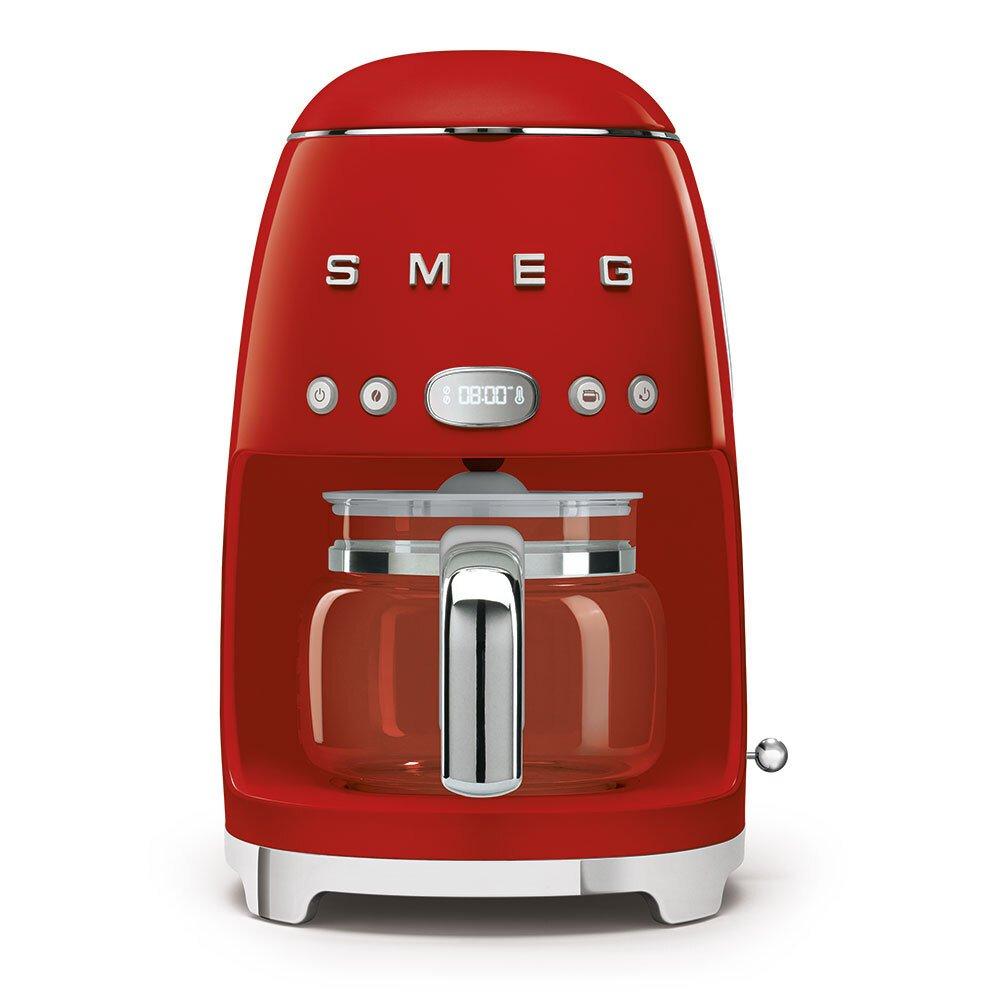 Smeg DCF02RDUK Retro Coffee Machine