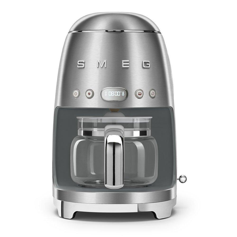 Smeg DCF02SSUK Retro Coffee Machine