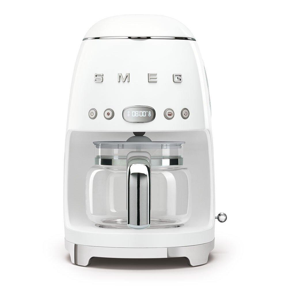 Smeg DCF02WHUK Retro Coffee Machine