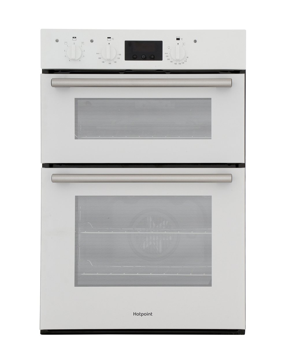 Hotpoint DD2540WH Double Built In Electric Oven
