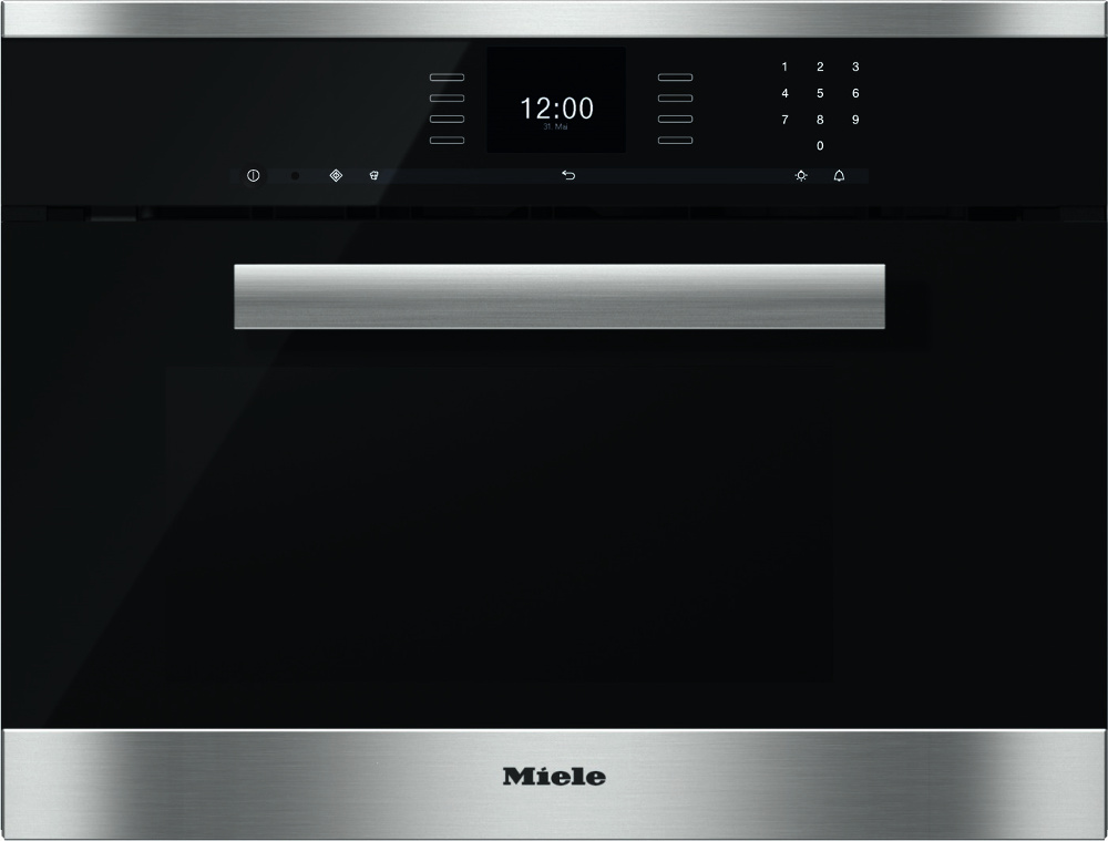 buy miele pureline dgm6600 cleansteel steam oven with microwave dgm6600clst stainless steel. Black Bedroom Furniture Sets. Home Design Ideas
