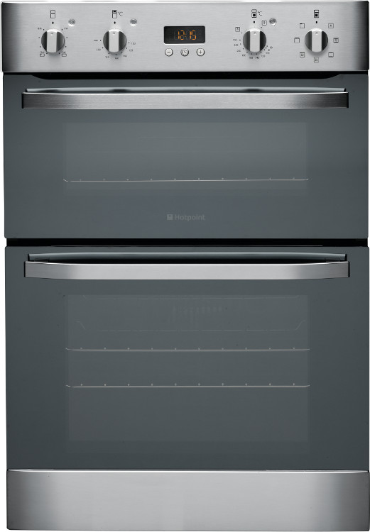 Built In Double Ovens Part - 18: Hotpoint DH93CXS Double Built In Electric Oven