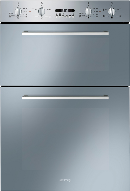 Smeg Cucina DOSF44X Double Built In Electric Oven