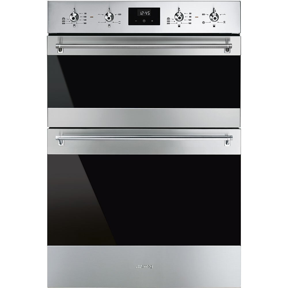 Smeg Classic DOSF6300X Double Built In Electric Oven