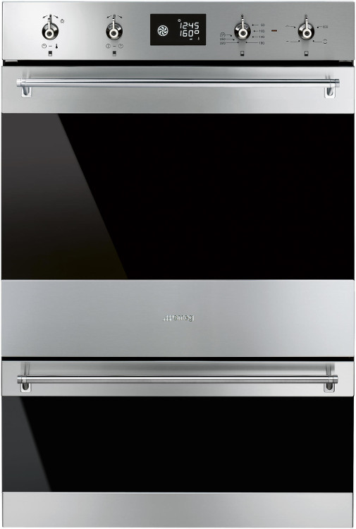 Smeg Classic DOSP6390X Double Built In Electric Oven