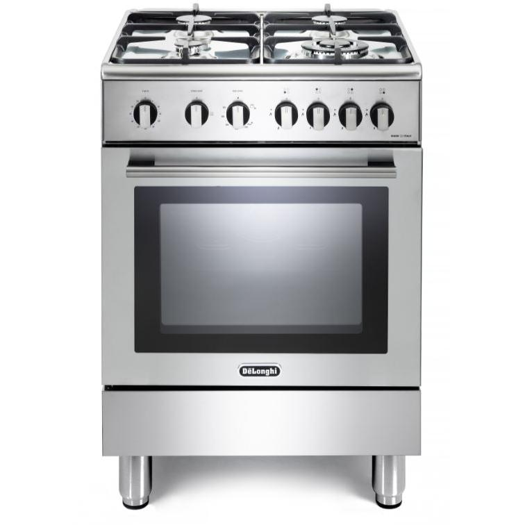 DeLonghi DSC 606-G Gas Cooker with Single Oven